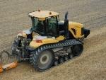 Гусеничный трактор сонник